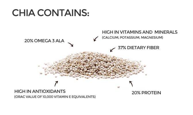 6 Functional Properties Of Chia Seeds